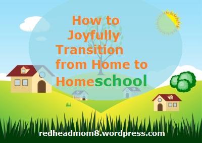 transition to homeschool
