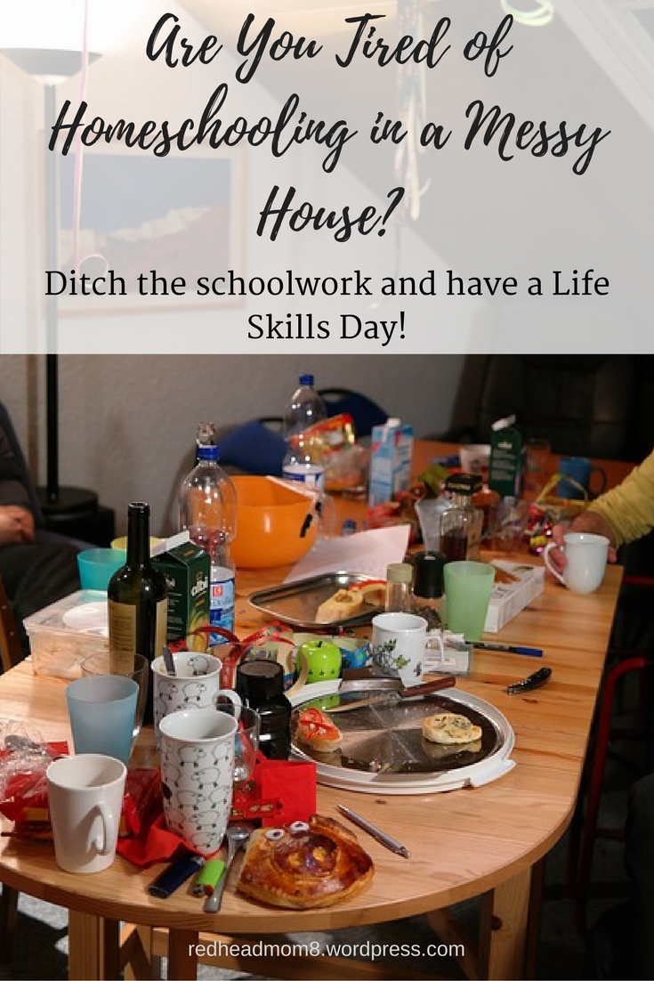 Are You Tired of Homeschooling in a Messy House?