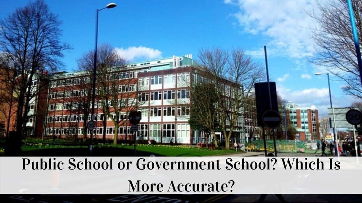 Public School or Government School? Which Is More Accurate?