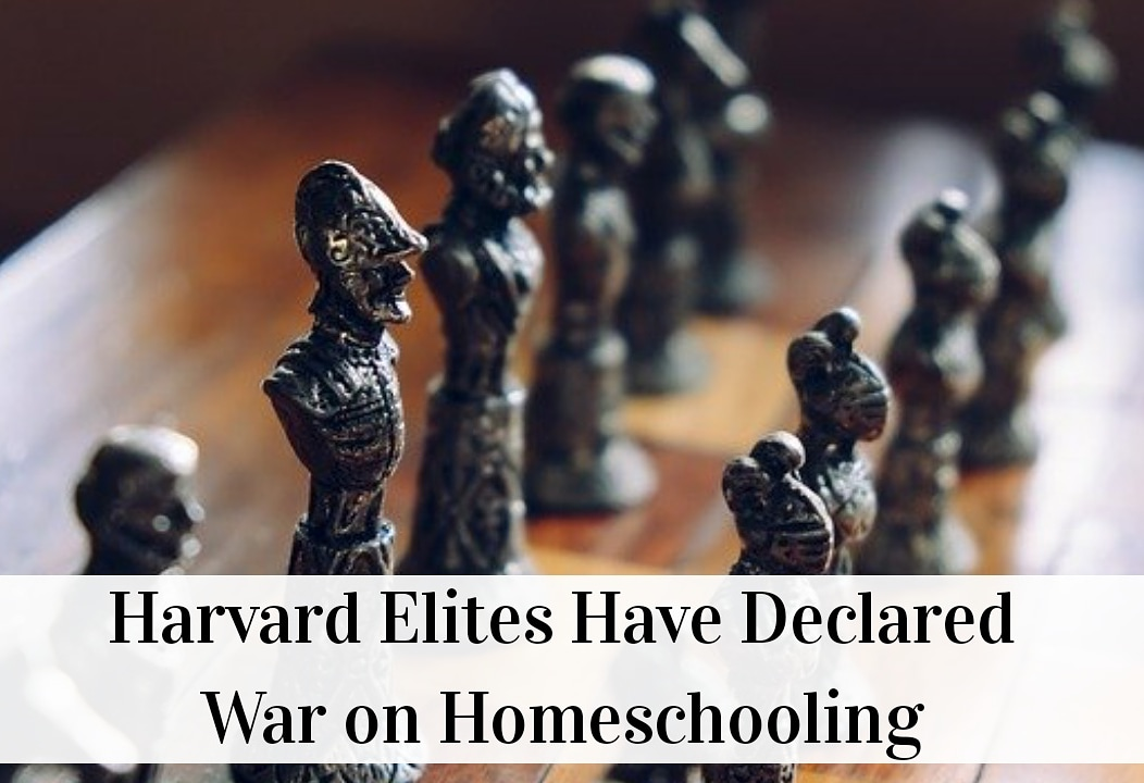 Harvard Elites Have Declated War on Homeschooling