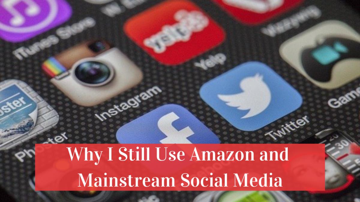 Why I Still Use Amazon and Mainstream SocialMedia